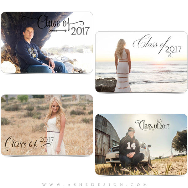 Ashe Design |  Word Art Overlays | Seniors | Class Act examples