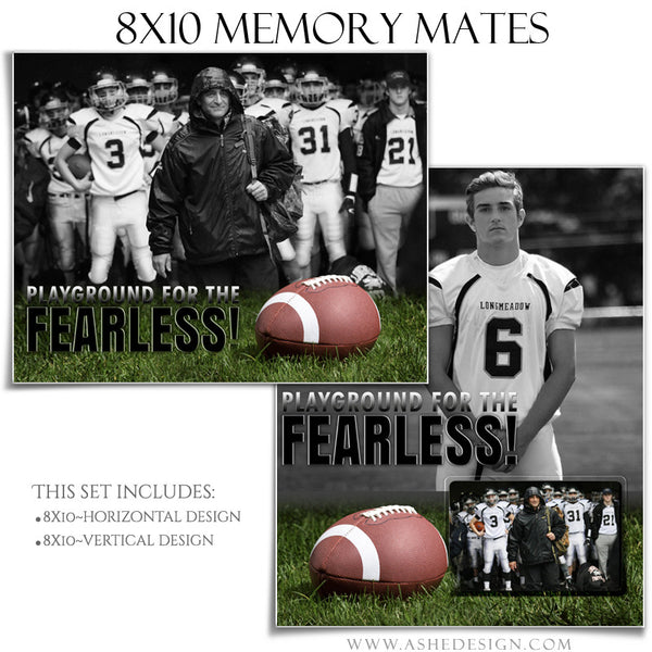 Sports Memory Mates 8x10 | Fearless set