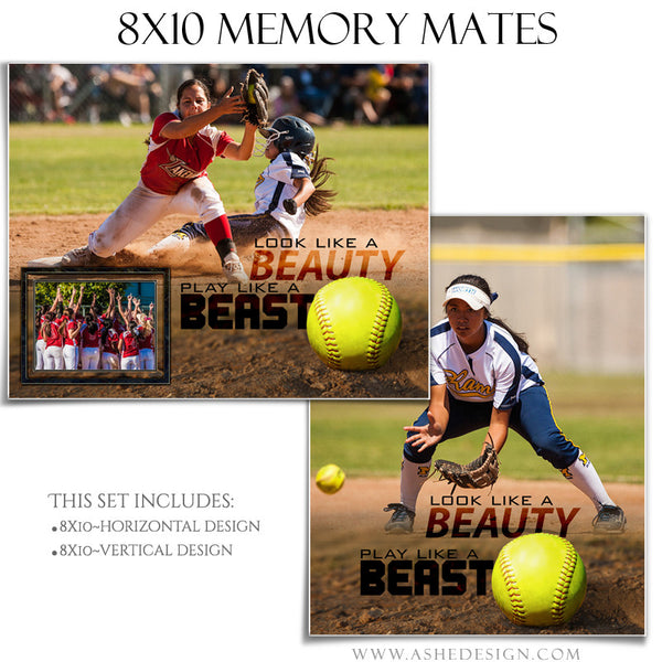 Ashe Design | Sports Memory Mates 8x10 - Beauty And The Beast