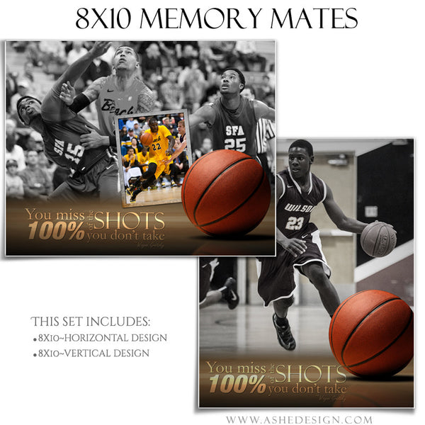Ashe Design | Sports Memory Mates 8x10 - Center Court