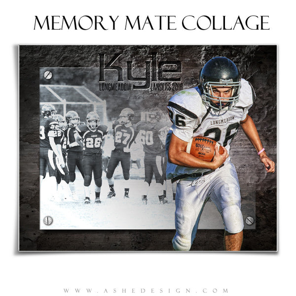 Ashe Design | 8x10 Horizontal Memory Mate | Photoshop Templates