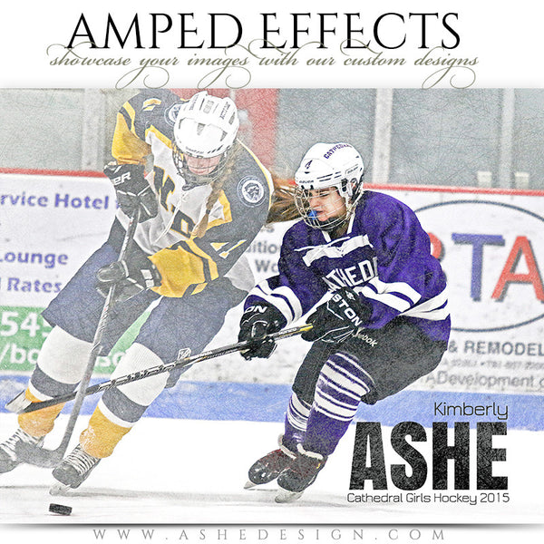 Ashe Design | Sports Hockey Poster | Photoshop Templates