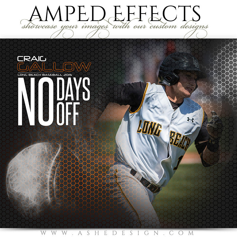 Amped Effects Templates | Honeycomb Baseball