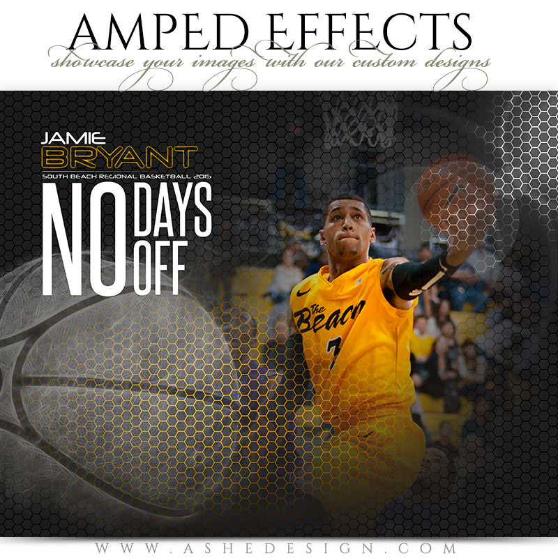 Amped Effects Templates | Honeycomb Basketball