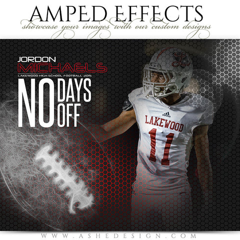 Amped Effects Templates | Honeycomb Football