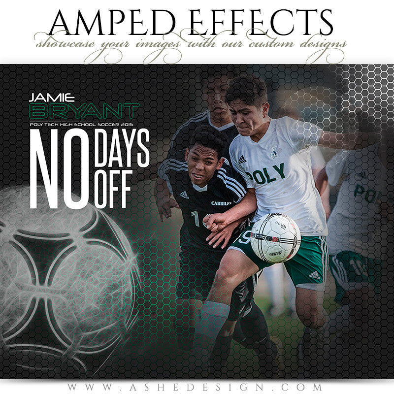 Ashe Design | Amped Effects Templates | Honeycomb Soccer