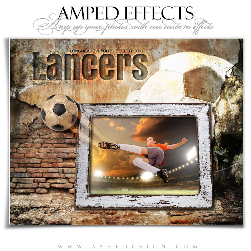 Ashe Design | Amped Effects | Out Of The Picture | Soccer
