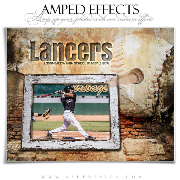 Ashe Design | Amped Effects | Out Of The Picture | Baseball