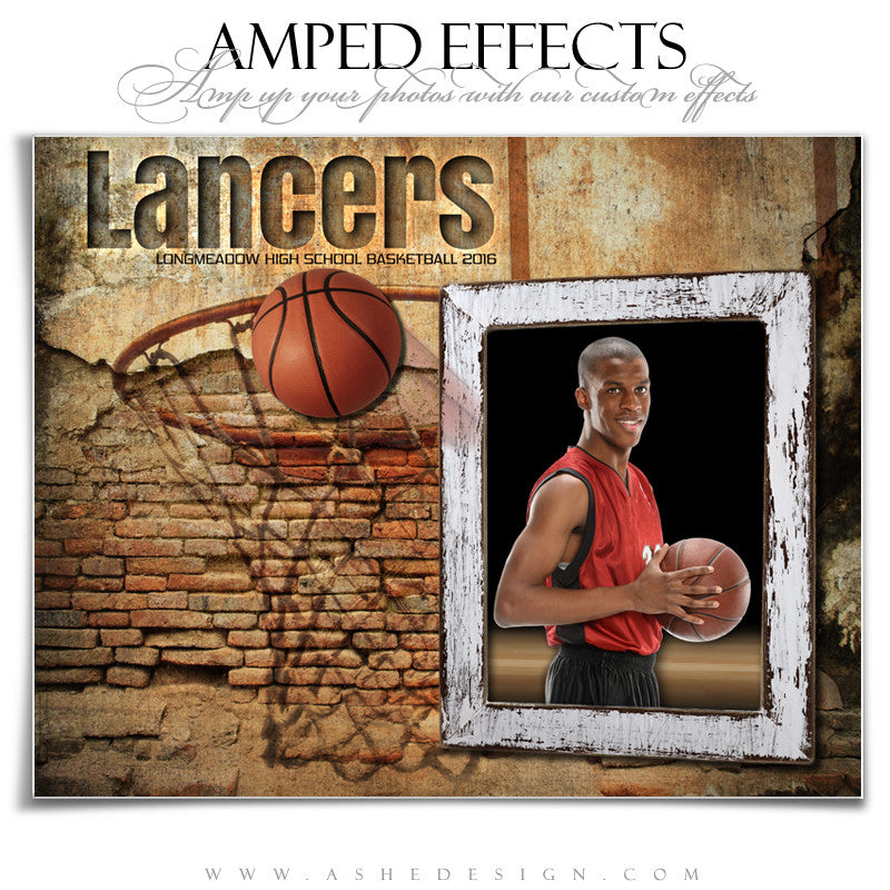 Ashe Design | Amped Effects | Out Of The Picture | Basketball