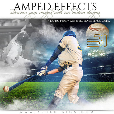 Ashe Design | Amped Effects | Full Steam Baseball