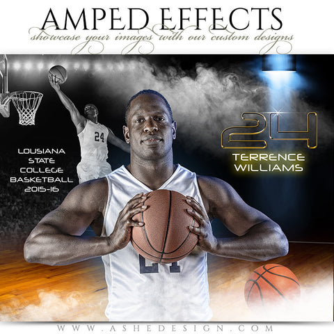 Ashe Design | Amped Effects | Full Steam Basketball
