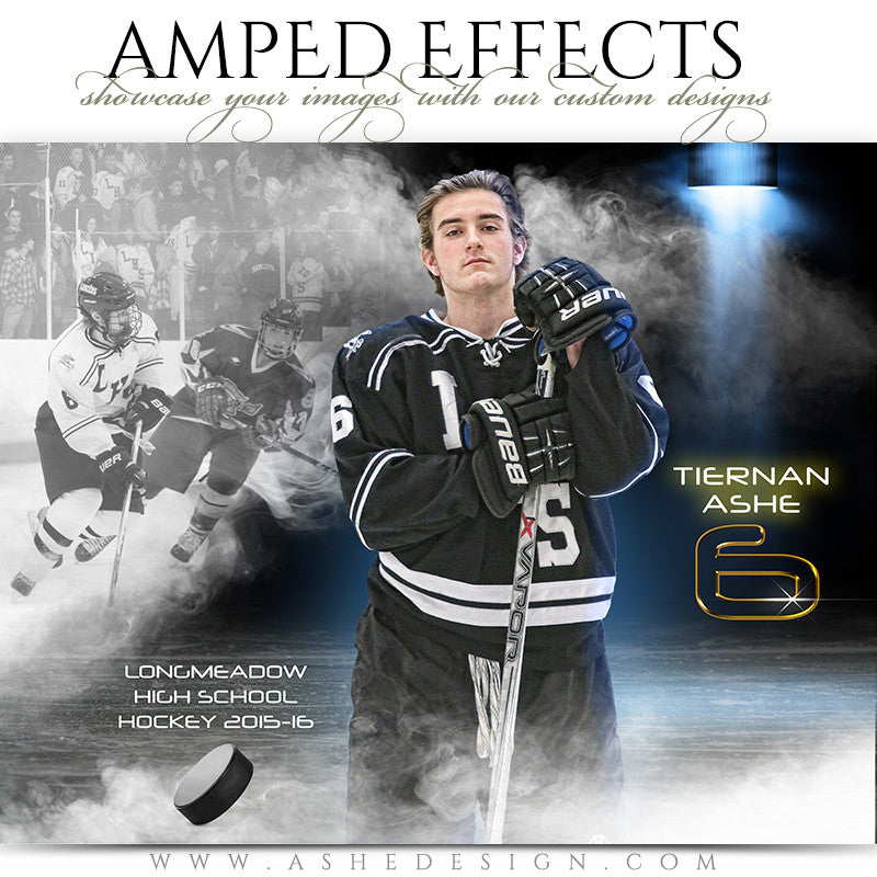 Ashe Design | Amped Effects | Full Steam - Hockey