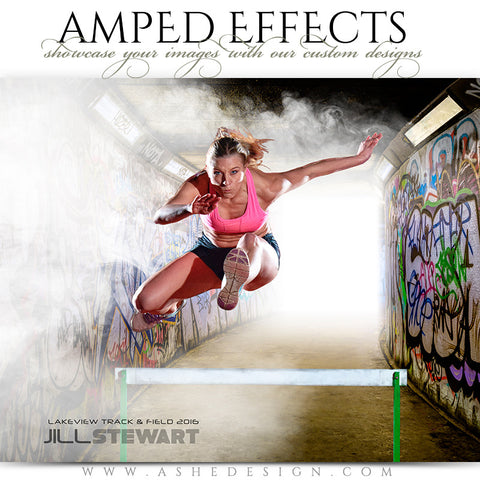 Ashe Design | Amped Effects | Subway Wall Graffiti