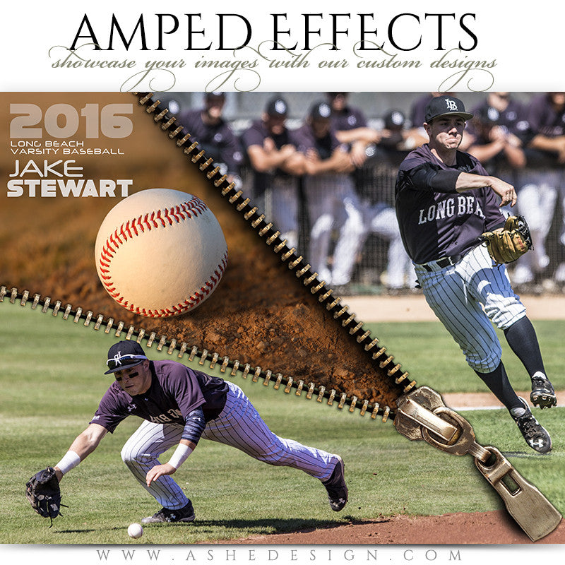 Ashe Design | Amped Effects | Zipped Baseball
