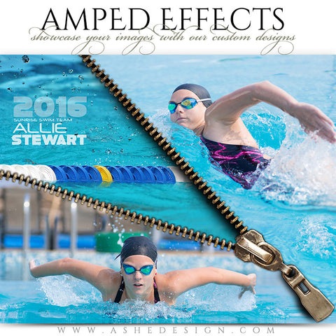 Ashe Design | Amped Effects | Zipped Swimming