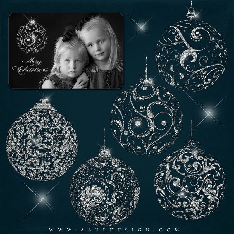 Ashe Design | Designer Gems - Diamond Filigree Ornaments