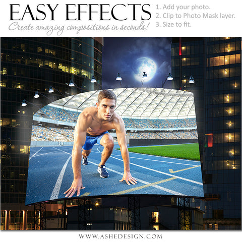 Ashe Design | Easy Effects | Billboard Big City Night | Track