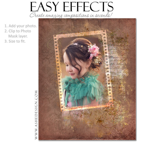 Ashe Design | Photoshop Poster Templates | Easy Effects | Children