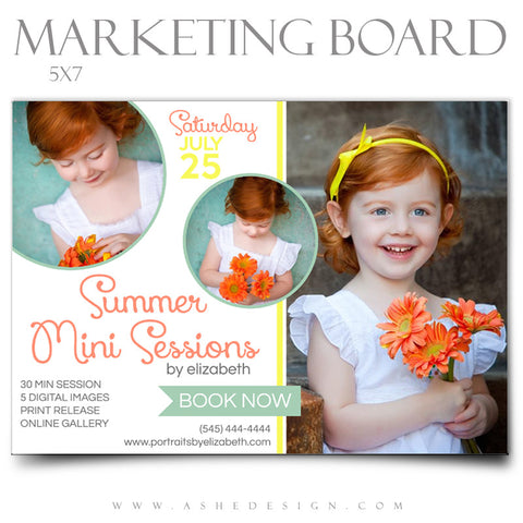 Marketing Board 5x7 Flat | Summer Fun