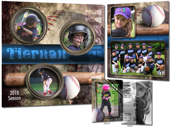 Sports Template Set 1 | Baseball full set
