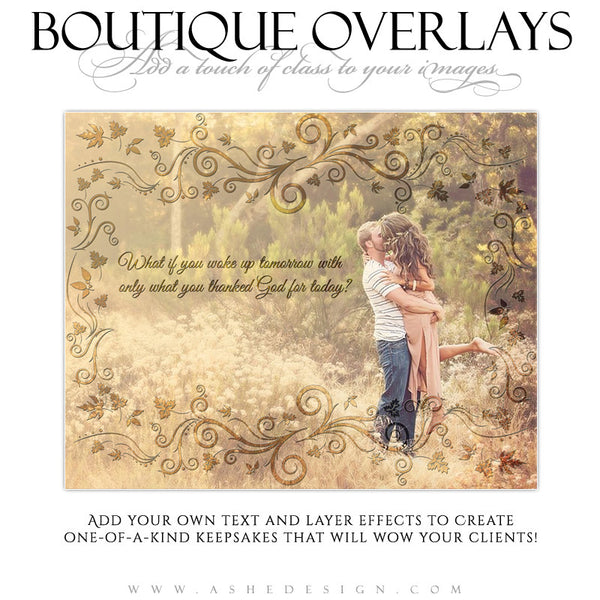 Designer Gems - Boutique Overlays - Autumn Leaves
