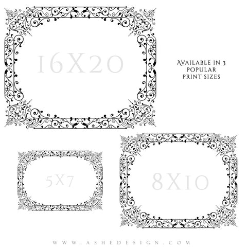 Designer Gems  - Boutique Overlays - Filigree Frames