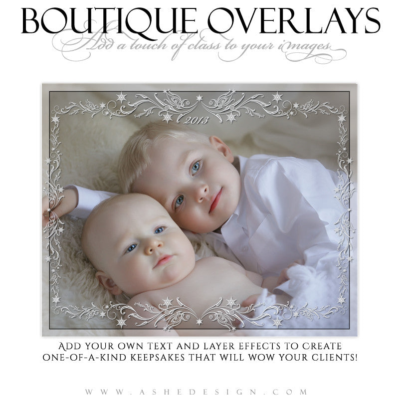 Designer Gems - Boutique Overlays - Snowflake Swirls