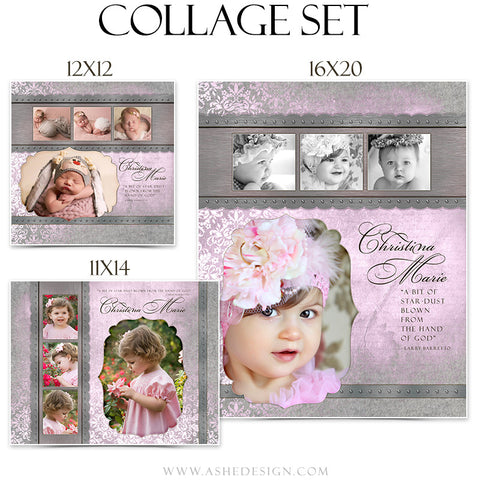 Baby Girl Collage Set | Christina