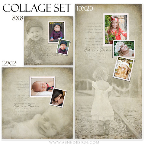 Collage Set (8x8,12x12,10x20) | Life Is A Picture