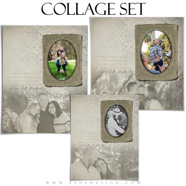 Family Collage Set | Live Life Joyfully