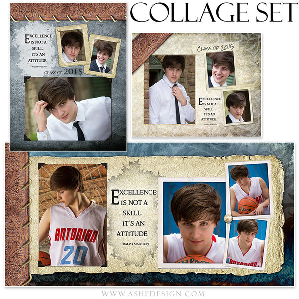 Senior Boy Collage Set | Tiernan Michael