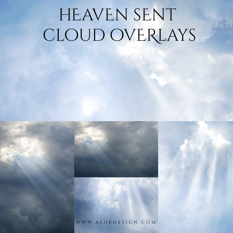 Designer Gems Cloud Overlays | Heaven Sent full set