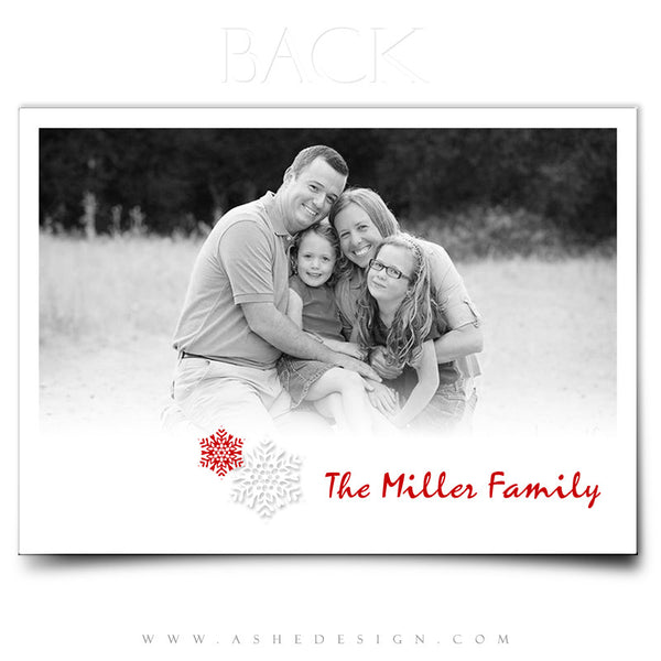5x7 Flat Christmas Card - Simply Stated