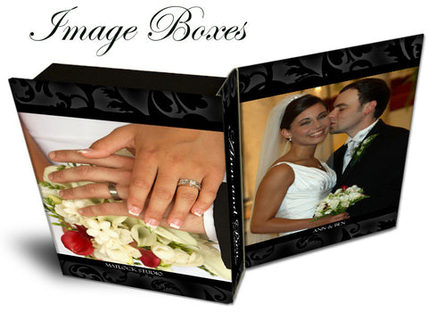 Image Boxes | Classic Black & White