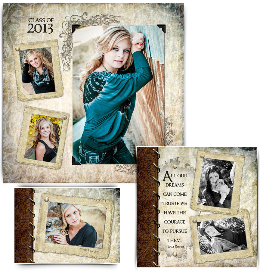Collage Template Set 1 | Kyra Ann