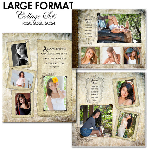 Collage Template Set 3 | Kyra Ann