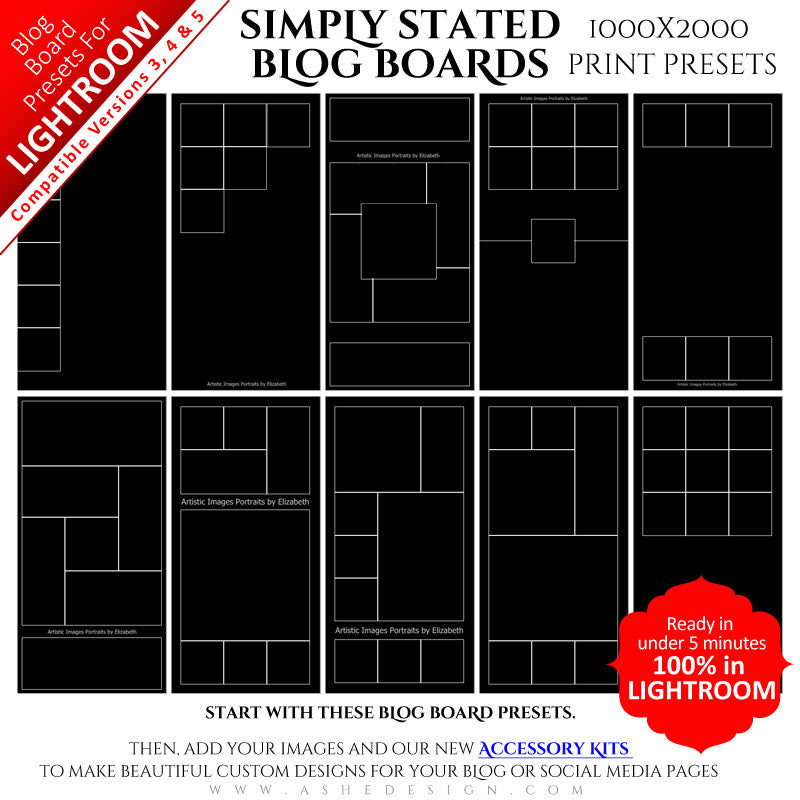 Lightroom Blog Board Collection (1000x2000) - Simply Stated