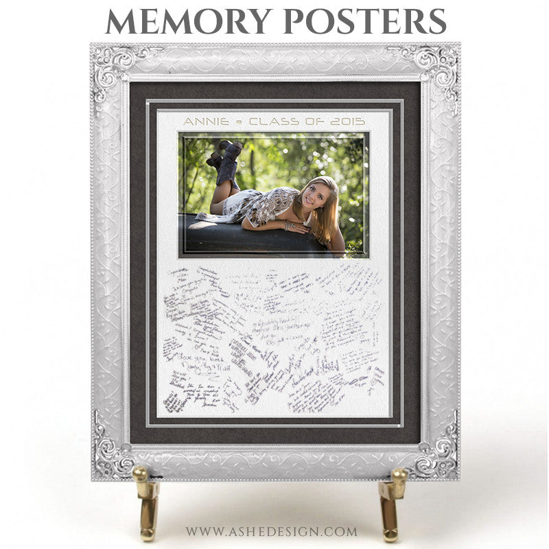 Memory Posters 16x20 | Classic Felt signed
