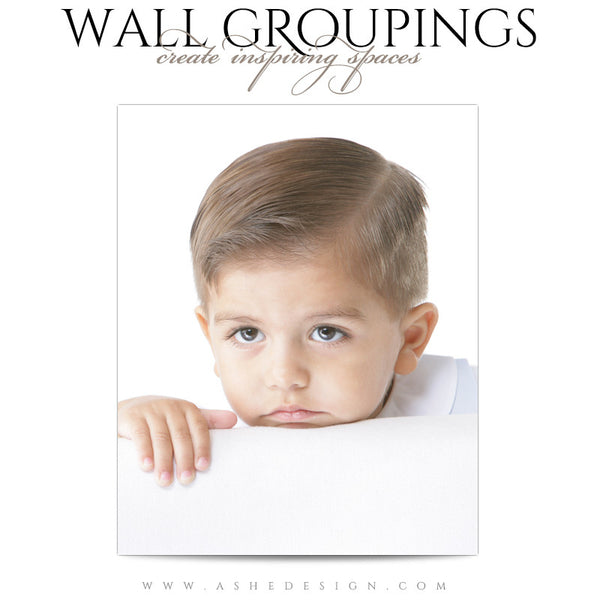 Wall Groupings Children Photography Templates | Nautical Theme photo