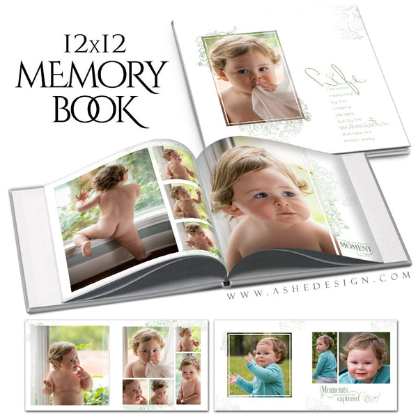 Family Photo Book 12x12 | Color Block cover