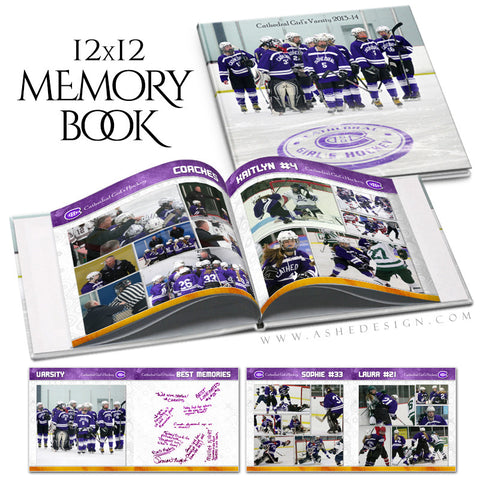 Sports Yearbook 12x12 | Memory Maker cover