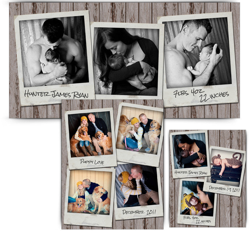 Collage Template Set 2 | Photographs