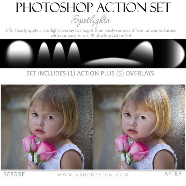Photoshop Action - Overlays | Spotlights3