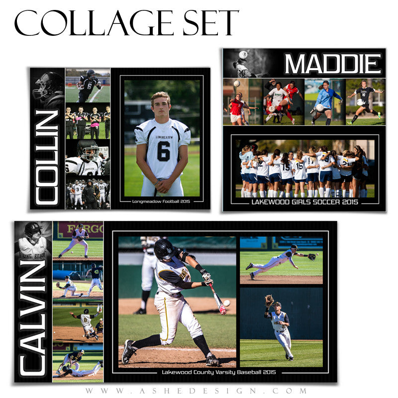 Sports Collage Set | Pure Performance