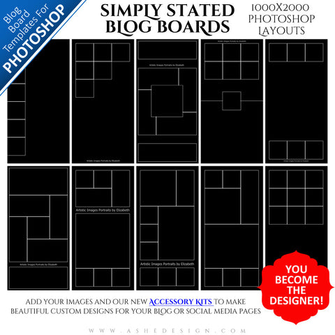 Photoshop Blog Board Collection (1000x2000) - Simply Stated