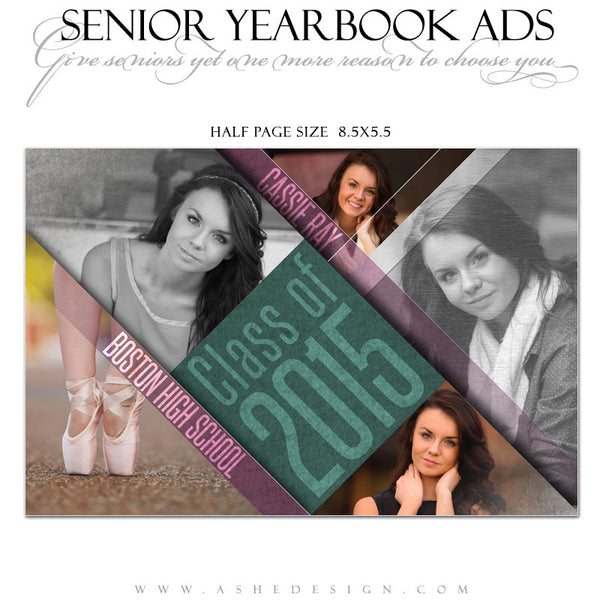 senior yearbook ads for photoshop angled ashedesign. Black Bedroom Furniture Sets. Home Design Ideas