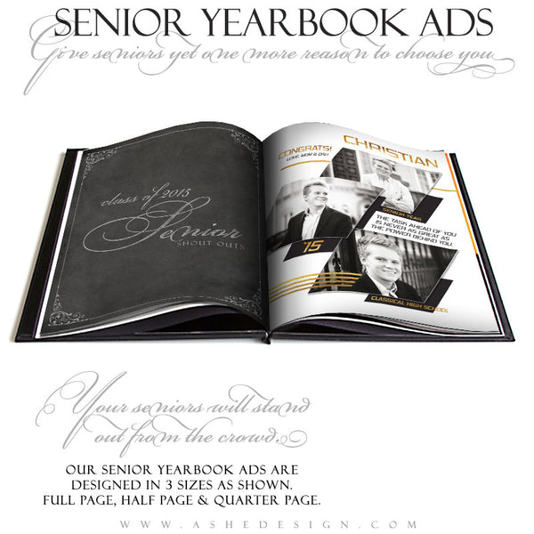 Yearbook Ad Set | Geometric