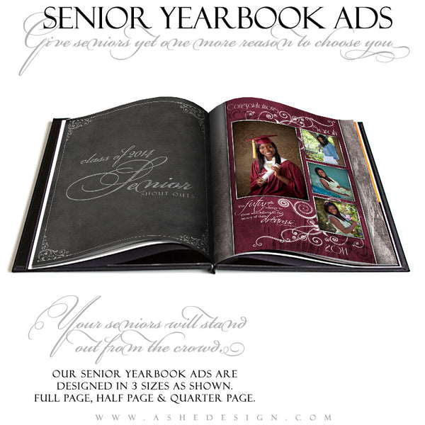 Steel Magnolia YB Ads open book web display