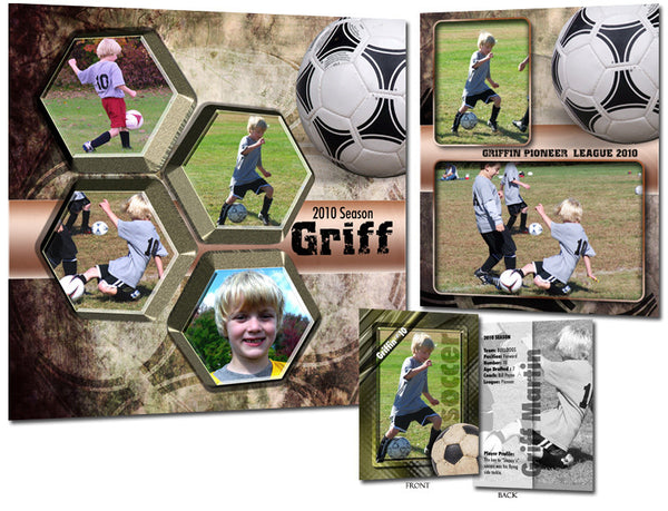 Sports Template Set 1 | Soccer set