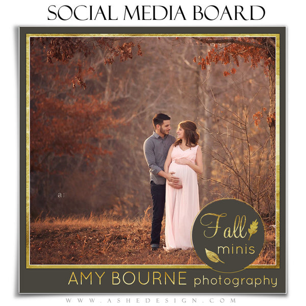Social Media Boards | Fall Foil 1